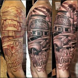 Chicano tattoo
